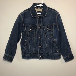 Gap Kids | Denim Jean Jacket 100% Cotton Sz S 6/7